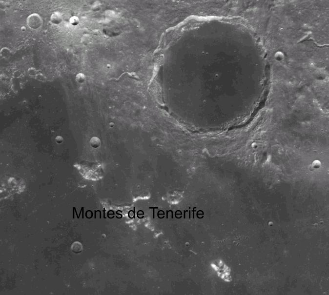Montes de Tenerife en La Luna