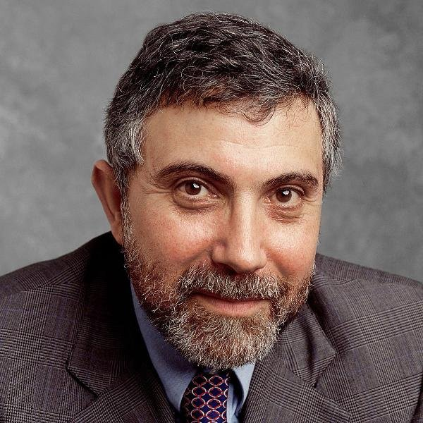 """Hola soy Krugman"" parece querer decirnos en esta foto"