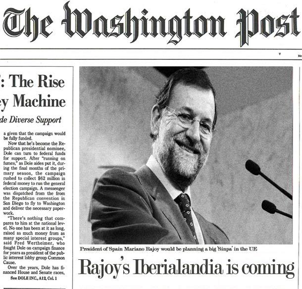 El Washington Post desvela el Plan-R de Mariano Rajoy.
