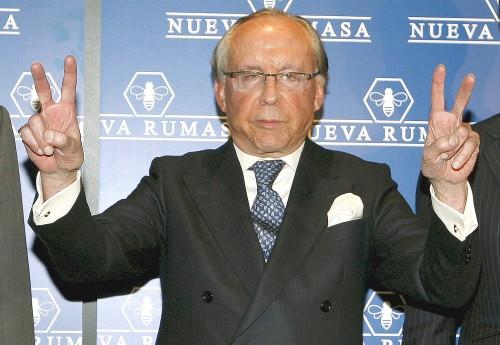 Ruiz Mateos, asegurando a los inversores la solvencia de la empresa.