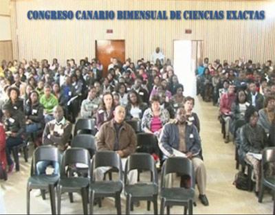 Imagen del último Congreso, donde se invitó a una nutrida representación de matemáticos del África occidental.