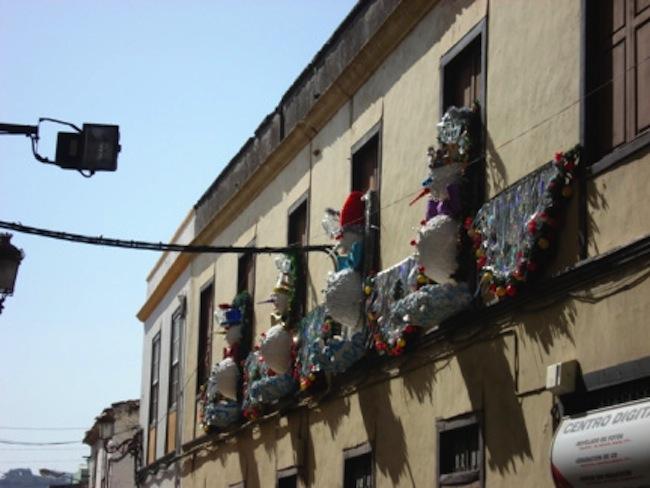 Estampa navideña de la geografía Canaria. Fuente: Canarias Bruta