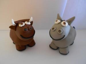 La mula y el buey, según consta en la recreación de su ficha policial