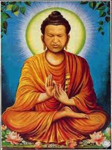 Estampa del budismo bolivariano