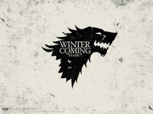 El lobo huargo de los Stark