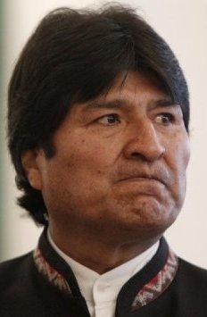 Morales visiblemente mosqueado
