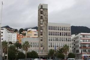 Edificio del gobierno insular palmero