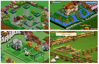 Rascacielos de Lujo, Mansiones, Campos de Fútbol para elefantes, Tierras abandonadas... El movimiento Occupy FarmVille promete entregar las tierras a quienes realmente quieran explotarlas.
