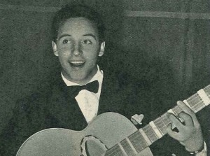 El showman italiano en sus años mozos