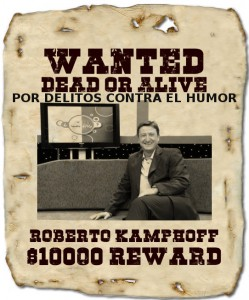 Imagen del cartel distribuido por la Corte Penal Internacional
