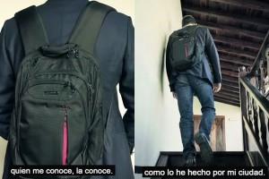 La mochila de Clavijo forma parte de la campaña de CC a la presidencia del Gobierno regional.