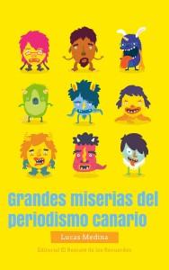 La portada de la obra de Lucas Medina tiene un diseño atractivo y juvenil, que al haber sido hecho con una plantilla de Internet ha ahorrado costes a la editorial