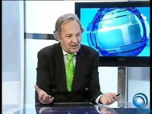 Ángel Isidro Guimerá, en una aparición televisiva