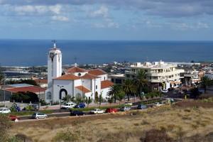 Vista del núcleo de Valle Guerra.