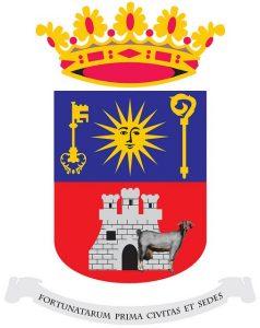 El escudo de Telde ya refleja su nuevo carácter como ciudad amiga de las cabras.