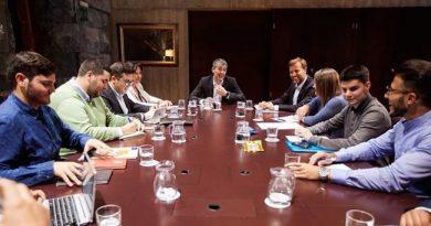 Reunión en Presidencia