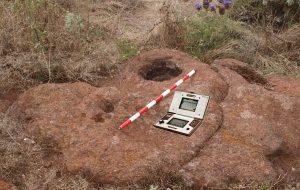 Una Nintendo Game Watch hallada en el yacimiento del Barranco del Agua en Tenerife.