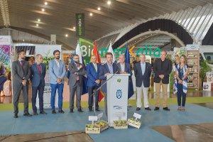 Carlos Alonso inaugura la feria Natura Salud, minutos antes del inicio de su conversión mística.
