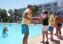 Una huelga de animadores llena los hoteles canarios de paz