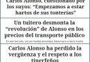 Las súbitas críticas de Diario de Avisos a Carlos Alonso hacen pensar a los lectores que ahí ha pasado algo